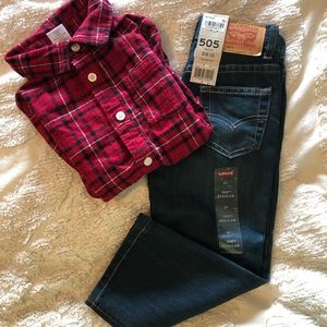 Levi's boy jeans